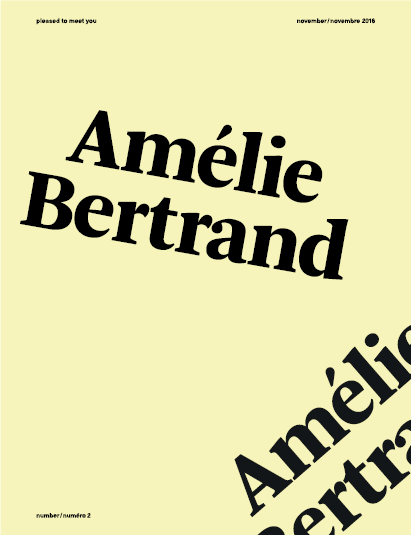 Pleased To Meet You - Amélie Bertrand - Order now